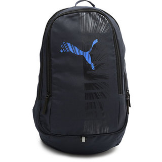 8cd4f29684d6 Buy PUMA Unisex Navy Graphic Backpack Online - Get 69% Off