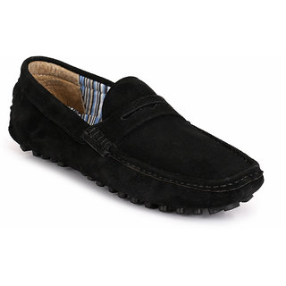 Buy Afrojack Men Suede Leather Driving