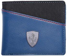 Puma Men's Blue LS Wallet