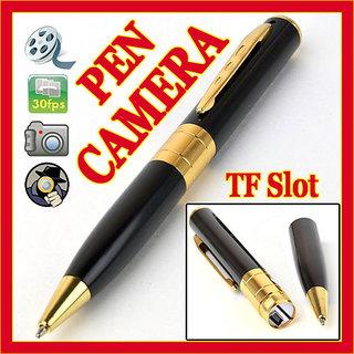 Slimmest Spy Pen Camera- Shoots Photo+Video+Audio+Webcam+Pen Drive
