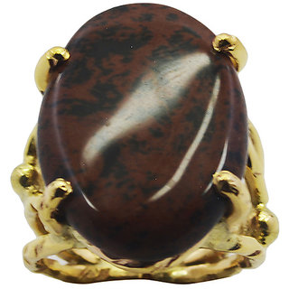 Jasper Gold Pleted Ring sightly Multicolor gemstones Indian gift