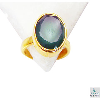 Green Onyx Gold Pleted Ring fine-looking Green suppiler Indian gift