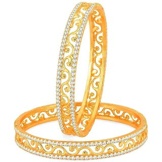 Gold Plated Bangles For Women And Girls