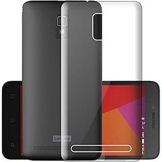 ECellStreet Transparent Soft Back Case Cover For Lenovo A6600 Plus