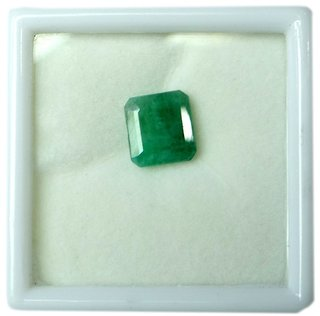 only4you 6.25 Ratti Certified Emerald Panna Stone