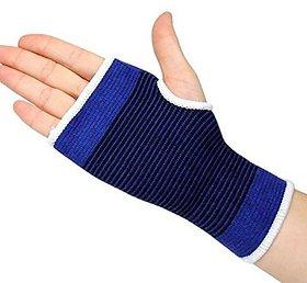 Digital Dukan Unisex Palm Wrist Glove, Blue
