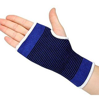 Digital Dukan Unisex Palm Wrist Glove, Blue