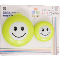 LE-101 SMILEY GREEN REMOTE BELL