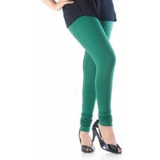 Green  Womens-Multi-Coloured-Cotton-Leggin