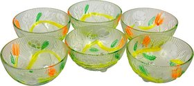 Shaurya saran Enterprises Glass Bowl Set
