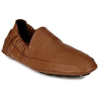 56b0046c66d Buy AfroJack Men Tan Loafers Online - Get 63% Off