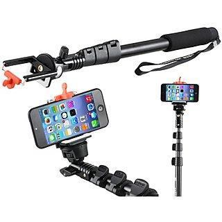 enrg selfie stick yunteng yt 188 self portrait monopod with bluetooth remote with stick clip. Black Bedroom Furniture Sets. Home Design Ideas