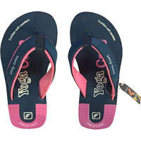 Toes-feet Yoga Care Pink-Navy Blue Flip Flop Slipers Fo