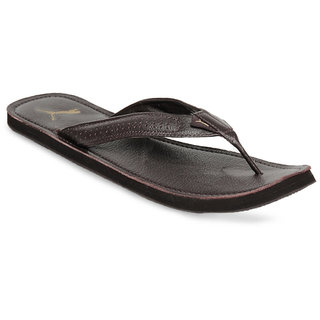 1828f0e76 Buy Puma Men Brown Java III Ind Flip Flops Online   ₹899 from ShopClues