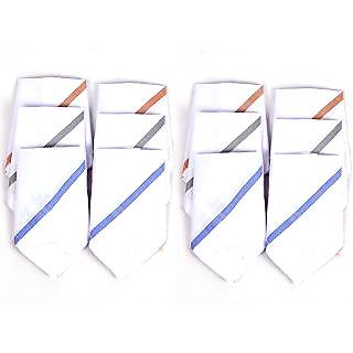 Premium Quality Handkerchief for Men (Pack of 12)