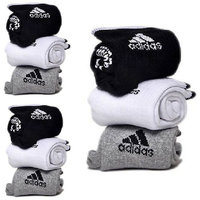 Adidas Multicolor Cotton Ankle Length Socks   9 pairs