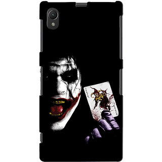 Snooky Digital Print Hard Back Case Cover For Sony Xperia Z1 Td10581