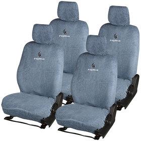 Pegasus Premium Universal Grey Towel Car Seat Cover For