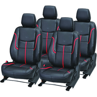 Pegasus Premium Universal Pu Leather Car Seat Cover For Sedan Cars