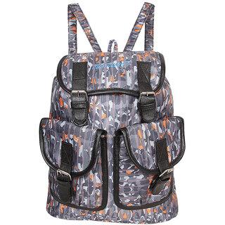 Justcraft Vintage Grey Ladis Backpack