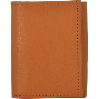 Exotique Mens Tan Wallet (WM0011TN)
