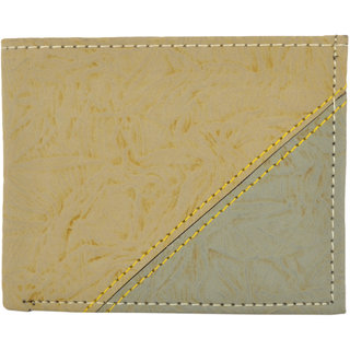 Exotique Mens Beige Wallet (WM0013BG)