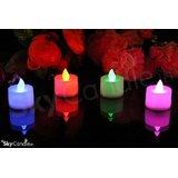 Sky Candle 12pcs 7 Colour Change Tea Light LED Candles