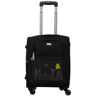 Timus Salsa Graphite Cabin 55 Cm 4 Wheel Strolley Suitcase For Travel