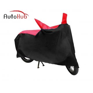 Flying On Wheels Body Cover Dustproof For TVS Star Lx - Black & Red Colour
