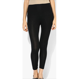 Women Four Ways Legging In Black Color