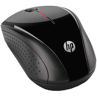 HP X3000 Wireless Optical Mouse  Black  Mouse