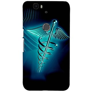 Fuson Designer Phone Back Case Cover Huawei Nexus 6P ( The Graphic Medical Care Image )