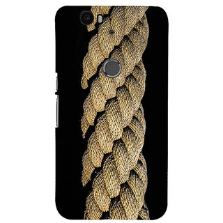 Fuson Designer Phone Back Case Cover Huawei Nexus 6P ( Close Up View Of Rope )