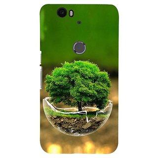 Fuson Designer Phone Back Case Cover Huawei Nexus 6P ( Growing Tree In A Bowl )