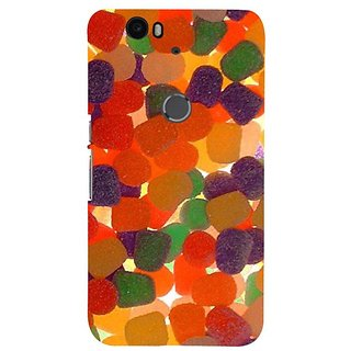Fuson Designer Phone Back Case Cover Huawei Nexus 6P ( Candies Can Create Differences )