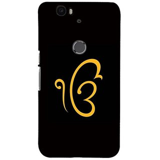 Fuson Designer Phone Back Case Cover Huawei Nexus 6P ( Ik Onkar )