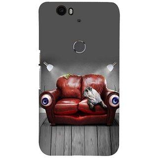 Fuson Designer Phone Back Case Cover Huawei Nexus 6P ( In The Relaxing Mode )