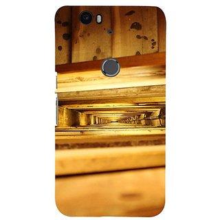 Fuson Designer Phone Back Case Cover Huawei Nexus 6P ( In Between The Shelves )