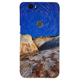 Fuson Designer Phone Back Case Cover Huawei Nexus 6P ( Beautiful Design In The Sky )