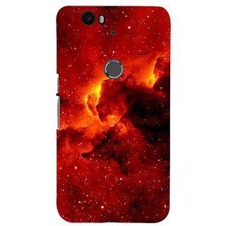 Fuson Designer Phone Back Case Cover Huawei Nexus 6P ( Clouds Covering Sun )
