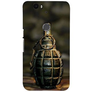 Fuson Designer Phone Back Case Cover Huawei Nexus 6P ( Unopened Grenade )