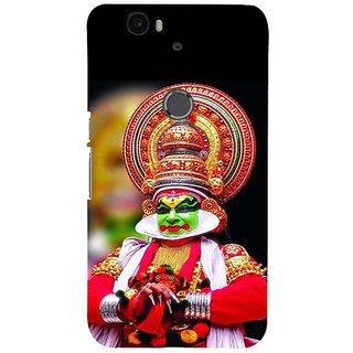 Fuson Designer Phone Back Case Cover Huawei Nexus 6P ( Kathakali Illustration )
