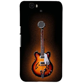 Fuson Designer Phone Back Case Cover Huawei Nexus 6P ( A Beautiful Electric Guitar )