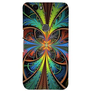 Fuson Designer Phone Back Case Cover Huawei Nexus 6P ( Colourful Abstract Pattern )