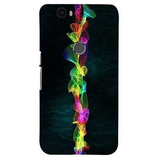 Fuson Designer Phone Back Case Cover Huawei Nexus 6P ( Design With Thread )