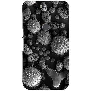 Fuson Designer Phone Back Case Cover Huawei Nexus 6P ( Pebbles And Nature )