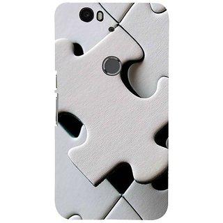 Fuson Designer Phone Back Case Cover Huawei Nexus 6P ( Puzzlier Puzzles )