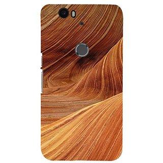 Fuson Designer Phone Back Case Cover Huawei Nexus 6P ( Sand Dunes )