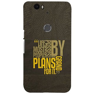 Fuson Designer Phone Back Case Cover Huawei Nexus 6P ( Life Passes By )