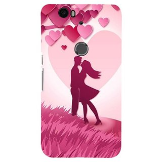 Fuson Designer Phone Back Case Cover Huawei Nexus 6P ( I Choose You )